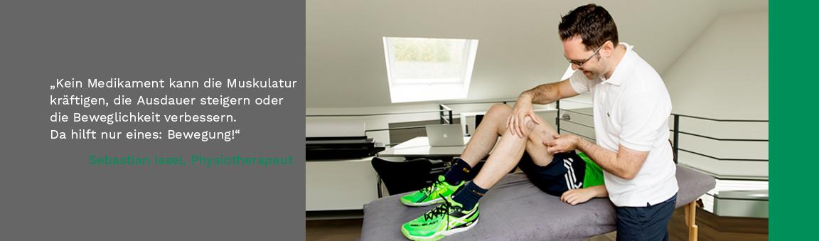 Individuelle Physiotherapie für Sportler und Sportlerinnen
